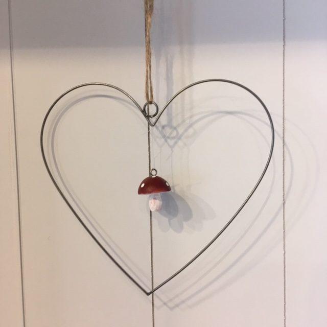 Metallhänger Herz